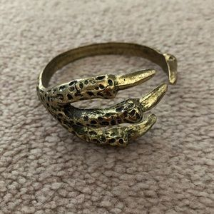Dragon claw bangle.